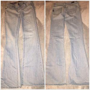 Light Blue Paige Jeans Laurel Canton Sz 25
